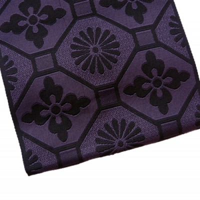 Purple black obi