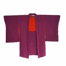 Silk purple haori