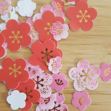 Japanese plum stickers